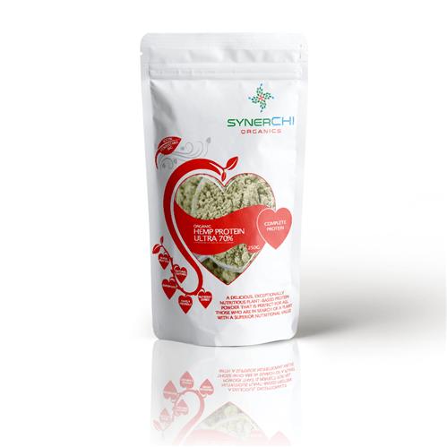superfood hemp protein powder 70%