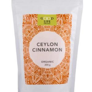 organic ceylon cinnamon powder from Good Life Organic