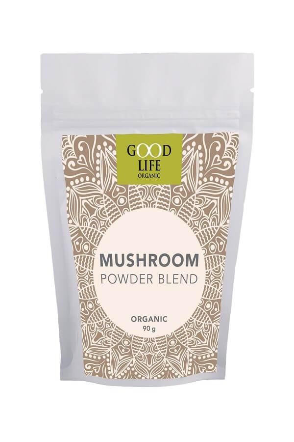 Good Life Organic Mushroom Powder Blend