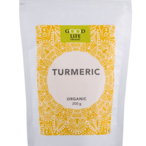 organic turmeric powder from Good Life Organic