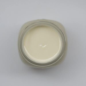 bottle of open jar Skiiome skin food cream