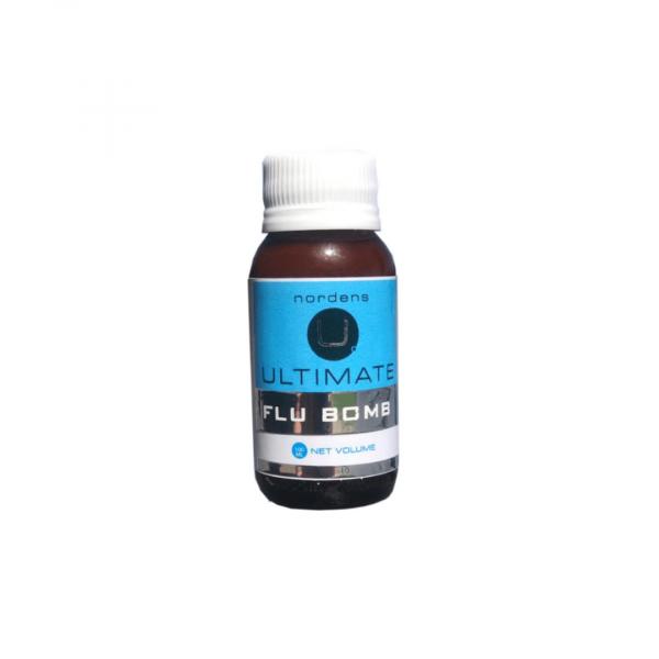 bottle of nordens ultimate flu bomb liquid