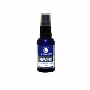 spray bottle of nordens rewind toxin removal system